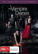 Vampire Diaries : Season 5 (DVD, 2014, 5-Disc Set) R/4