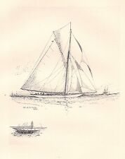 "Illustration from ""The Lawson History of America's Cup"": Vigilant"