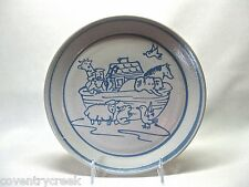 BEAUMONT BROTHERS POTTERY .. 1994 .. NOAH'S ARK PLATE