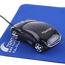 Car Shape 3D Optical USB Wired Mouse Mice for Mac Computer PC Laptop Notebook