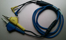 TEST LEADS FOR 3M DYNATEL 965DSP   Cable  Yellow and Blue