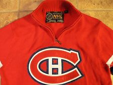 Red Montreal Canadiens Sweater Mens Medium Official National Hockey League NHL