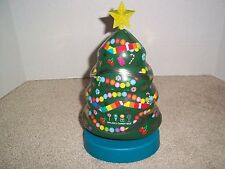 Dylan's Candy Bar NY Christmas Tree Musical Tin 10.25""