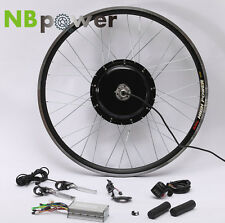 "48V 1500W E Bike Conversion Kit -- Hub Motor 26"" Rear Wheel with LCD Display"