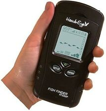 HawkEye PORTABLE/HANDHELD FISHFINDER FISH FINDER F33P Brand New, FAST POST