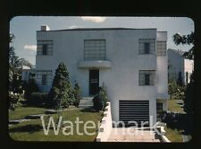 1940s kodachrome photo slide House exterior Dutch Boy Paint collection #7