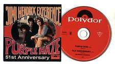 Cd JIMI HENDRIX Experience - Purple Haze - 51st Anniversary CDS single singolo
