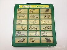 Touch 'n Tell Me Animal Group 2 VTG Toy Galoob Press Button Learn Word Spell 80s