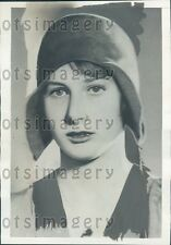 1933 Young Princess Caroline Mathilde of Denmark Press Photo