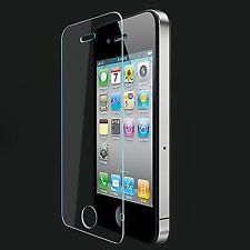 NEW TEMPERED GLASS SCREEN PROTECTOR LCD GUARD FILM FOR APPLE IPHONE 4 & 4s