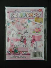 "HUNKYDORY THE LITTLE BOOK ""FABERDASHERY ""SET OF 24 - A5  CARD TOPPERS"