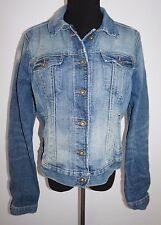 Ralph Lauren Polo Denim Blue Crop Jean Jacket Sz L