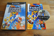 Jeu SONIC HEROES Complet pour Nintendo Game Cube GC PAL