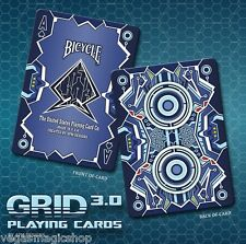 Grid 3.0 Deck Bicycle Playing Cards Poker Size USPCC Custom Limited Edition New