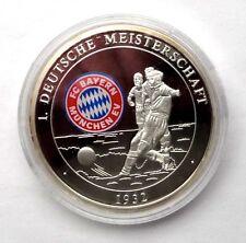 FC Bayern München, silberne Medaille der ersten Deutschen Meisterschaft 1932
