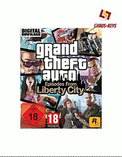 Grand Theft Auto: Episodes from Liberty City Steam Key Pc Game Download Code
