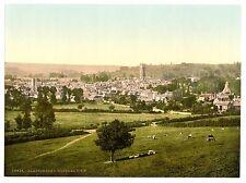 Riproduzione di foto antiche dell'Abbazia di Glastonbury