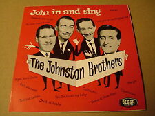 45T SINGLE / THE JOHNSTON BROTHERS - JOIN IN AND SING