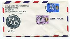 1970 Devil's Ashpit Tracking station Ascension Island Patrick Air Space Cover