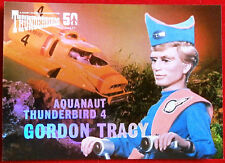 Thunderbirds 50 ANNI-FOIL Chase Card-f7-GORDON Tracy-inarrestabile carte