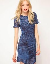 Robe Dress SEE BY CHLOE Jersey 8 us 12 uk 40 fr bleue