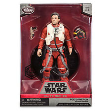 Disney Store Star Wars Elite Series Poe Dameron Die Cast Action Figure