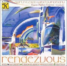 Rendezvous - North Texas Wind Symphony - Corporan - Klavier Records - sealed!