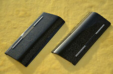 AUDI S4 8E0 8H0 B6 B7 _ CARBON ASHTRAY TRIM COVER _ A4 RS4  FITS 1 DIN RADIO !!!