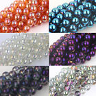 10/15/25/50Pcs Round Czech Crystal Glass Loose Spacer Beads Finding 6/8/10/12mm