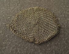 ANTIQUE EARLY 1900'S ALPACCA METAL MESH BAG FOR PURSE