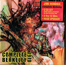 JIMI HENDRIX-The complete Berkeley 1970 (3cd Box set / Ltd edition 1000 pressed)