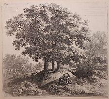 Listed Dutch Artist Antonie Waterloo, Original Etching