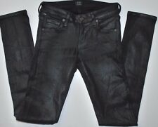 USED WOMEN'S CITIZENS OF HUMANITY JEANS COATED AVEDON SLICK SKINNY SIZE 24