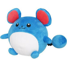 """Genuine  Official Sanei Pokemon Series PP29 Marill 6"""" All Star Collection Plush"""