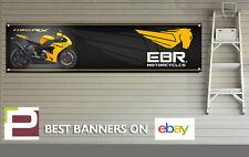 Ebr 1190RX bannière pour atelier, garage, man cave, eric buell, 1300mm x 325mm