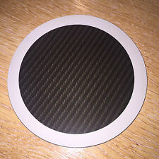 Carbon Black Magnetic Car Tax Disc Holder Windscreen Parking Permit for all Cars