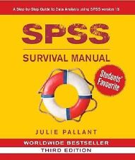 SPSS Survival Manual: A Step by Step Guide to Data Analysis Using SPSS for Windo