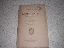 1889.principes de droit public des concordats / Satolli