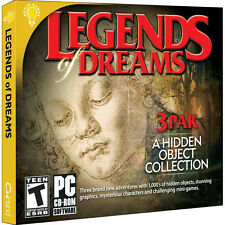 Legends Of Dreams 3 Pack PC Games Windows 10 8 7 Vista hidden object seek & find