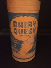 """1953 Dairy Queen, """"Un-Used"""" Ice Cream Container w/ Lid"""