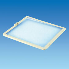 Caravan/Motorhome MPK Roof light Flynet 400mm Square In White