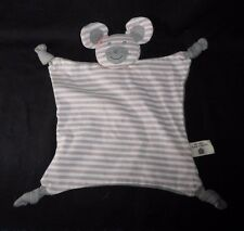 ORGANIC FARM BUDDIES BABY MOUSE SECURITY BLANKET RATTLE STUFFED PLUSH TOY SOFT