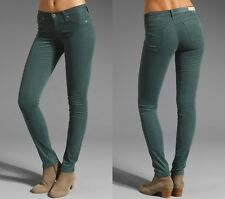AG Adriano Goldschmied Legging Supper Skinny Jean Cords Sea Mist Teal Green 25