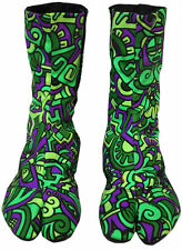 Original UV Ninja botas de Space tribe hippie Goa zapatos laursen tipo tabi botas 5