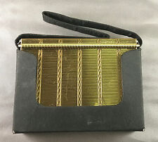 Vintage Volupte Swinglok Sophisticase Carryall Compact Complete w/ Pouch