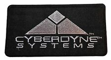 "Terminator Cyberdyne Emblem Logo 5 1/4"" Wide Embroidered Patch"