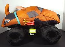 Scooby Doo Monster Jam Truck Stuffed Plush Toy 2015 14""