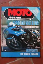 MOTO JOURNAL 474 SPECIAL BOL d'OR 1980 ; Trial : Bultaco Montesa Ossa SWM 1980