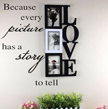 Because Every Picture Has A Story To Tell Quote Vinyl Wall Decal Home Sticker