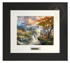 BAMBI FIRST YEARS - Thomas Kinkade Modern Home Collection Espresso Frame